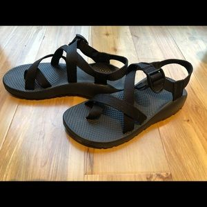 Womens Chaco Sandals - BLK/8
